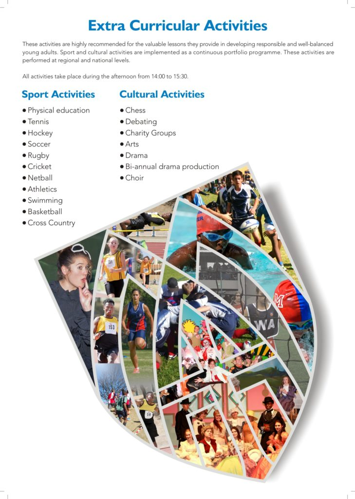 Sport and Culture insert High School